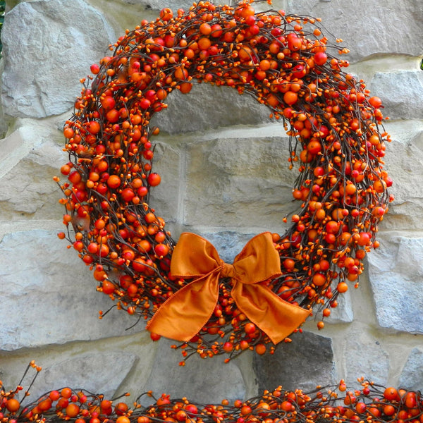 Orange Wreaths