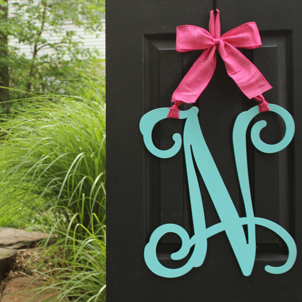 Letter Wreath - Door Wreath