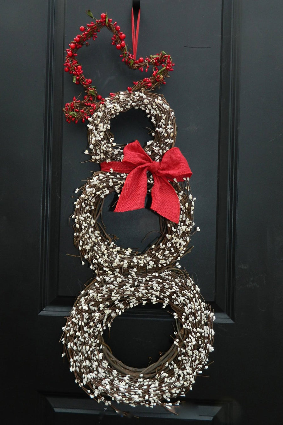 Original Berry Snowman Wreath