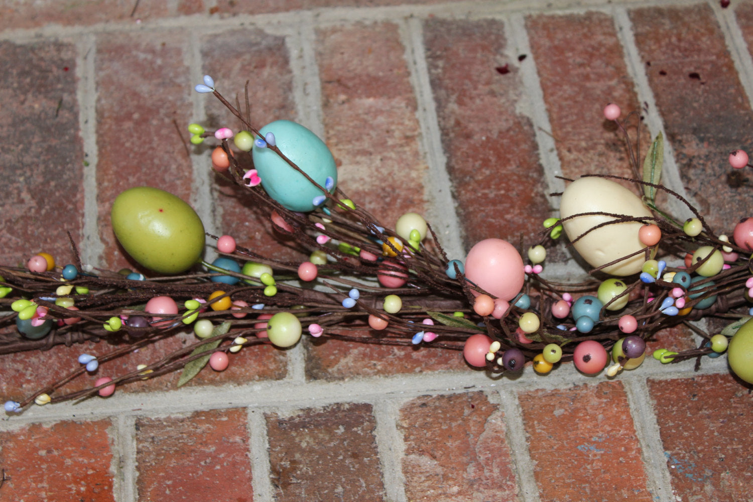 Easter Garland - Spring Garland - Easter Egg Garland - Easter Decoration