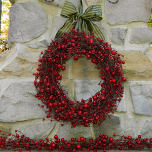 Red Combo Berry Wreath