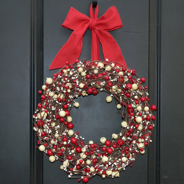 Christmas Wreath - Red Wreath