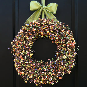 Mixed Spring Berry Wreath