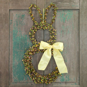Pip Berry Bunny Wreath with Bow
