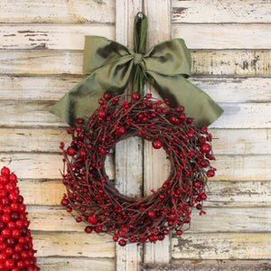 Mini Berry Wreath