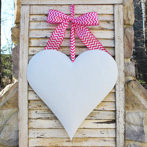 Glitter Heart Wreath Alternative