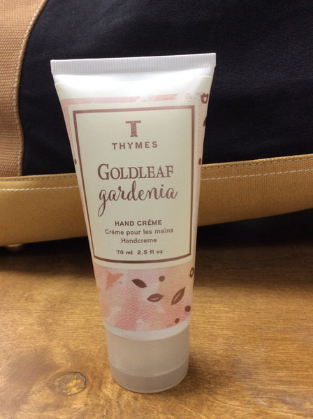 Goldleaf Gardenia Hand Creme 70ml by Thymes