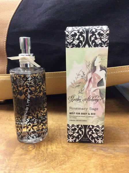 Garden Alchemy Rosemary Sage Mist for Bath and Bed 95ml by Thymes