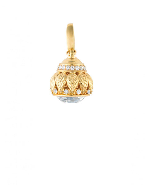 Bauble Charm Ornate Crystal