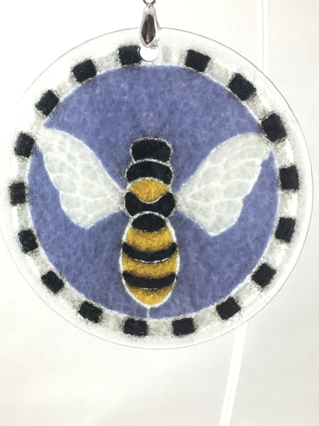 Peggy Karr Glass Bee Ornament