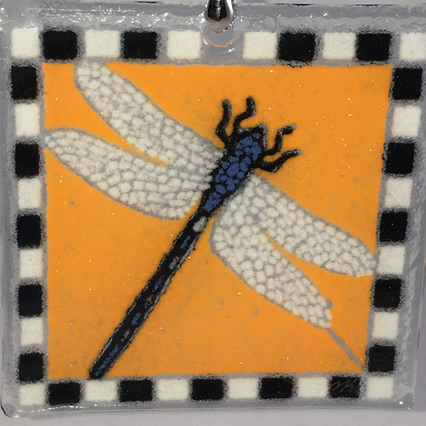 Peggy Karr Glass Dragonfly Ornament