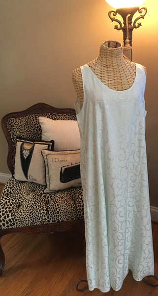 Linda Hartman Intimates Night Gown (Mint)