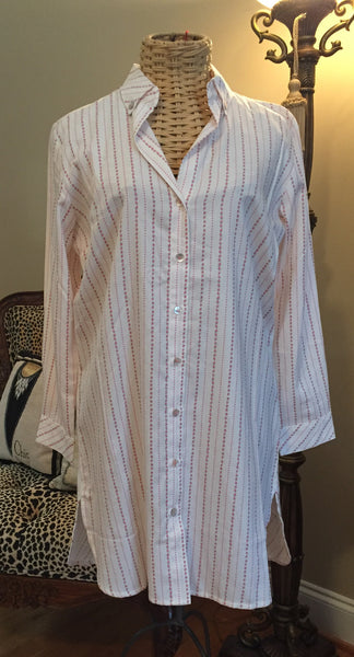 Crabtree & Evelynn Long Sleeved Night Shirt