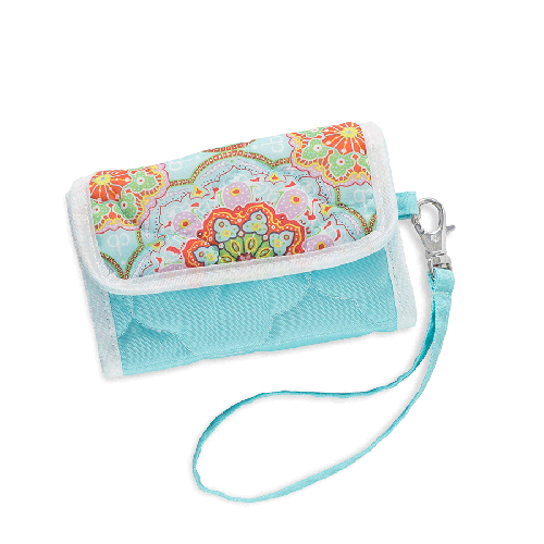 Cell Phone Wristlet Casablanca Sky Blue