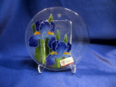 Peggy Karr Handcrafted Art Glass Iris (Retired Pattern)