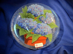 Peggy Karr Handcrafted Art Glass Hydrangea