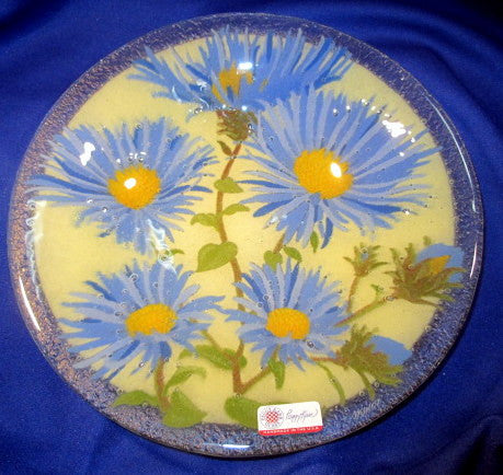 Peggy Karr Handcrafted Art Glass Asters