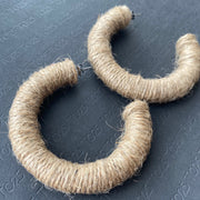Hoop Earrings - Natural Earrings