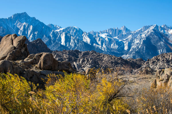Autumn in the Alabama Hills