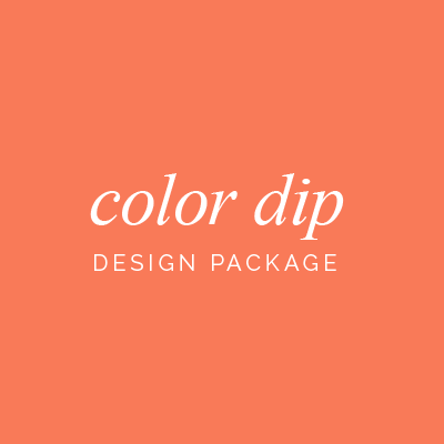 Color Dip Package