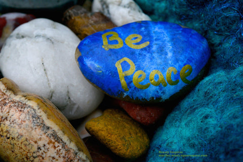Stones speak - Be Peace