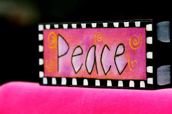 Peace In Pink