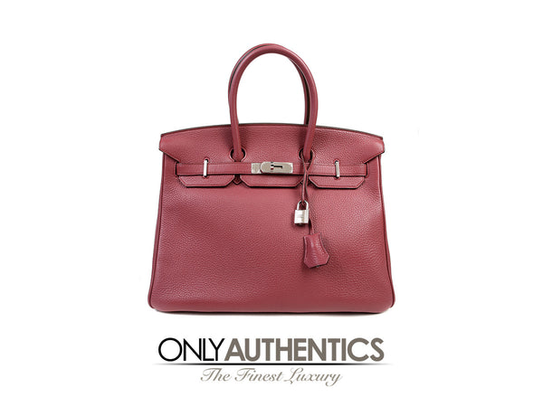 Hermès  Bois de Rose Togo Leather 35 cm Birkin