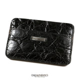 Dennis Basso Black Alligator Wallet