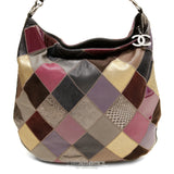 Chanel Multicolor Patchwork Hobo