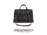 Chanel Black Distressed Caviar Day Bag