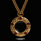 Chanel Gripoix Monocle Necklace