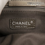 Chanel Grey Leather Portobello Tote