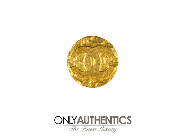 Chanel Gold CC Coin Pin