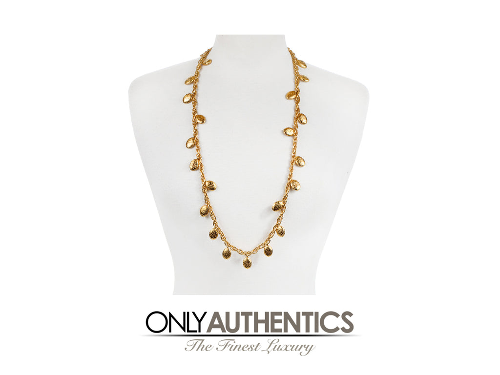 Chanel Gold Raindrops Necklace