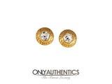 Chanel Hexagonal Crystal Art Deco Earrings