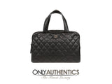 Chanel Black Caviar Quilted Day Bag