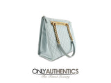 Chanel Light Blue Rue Cambon Shopper