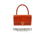 Brick Box Calf Vintage Handbag