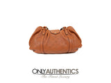 Cognac Mahina Leather Lunar PM Bag