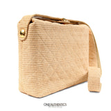 Chanel Vintage Raffia Shoulder Bag