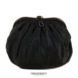 Black Vintage Framed Evening Bag