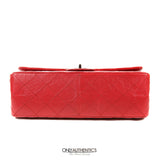 Chanel Red Calfskin 2.55 Reissue Double Flap Bag