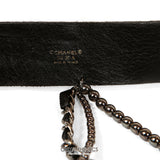 Black Bow Belt with Chains