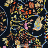 Pierres d'Orient et d'Occident 90 cm Silk Scarf