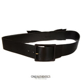 Black Satin Bow Belt size 85/34