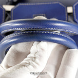 Blue Electrique Epsom 35 cm Birkin with Mykonos Blue Interior