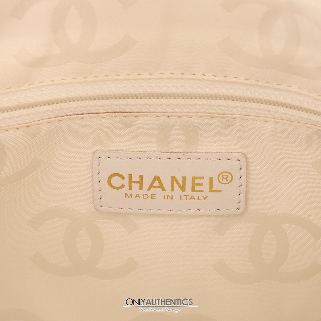 fd5927c4a273 Chanel Beige Leather Envelope Four Chain Convertible Clutch – Only ...