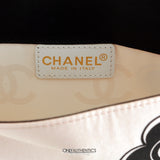 Chanel Camellia Limited Edition  Silk and Leather Pochette