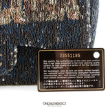 Chanel Blue Coco Cuba Sequins Flap Bag
