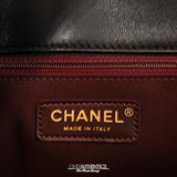 Chanel Black Leather Executive Shopper Tote